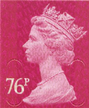76p Discount GB Postage Stamp (mixed designs)